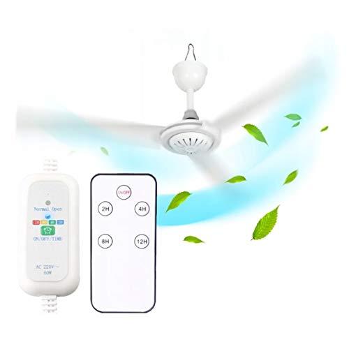 Cronos TAFI - Ventilador de techo de 70 cm + mando a distancia, diámetro de 70 cm, 250 rpm, color universal, ventilador de 3 hojas, ABS de alta resistencia, ahorro de energía