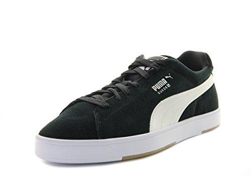 Puma SUEDE S, Herren Sneakers, Schwarz (black-white 03), 41 EU (7 UK)
