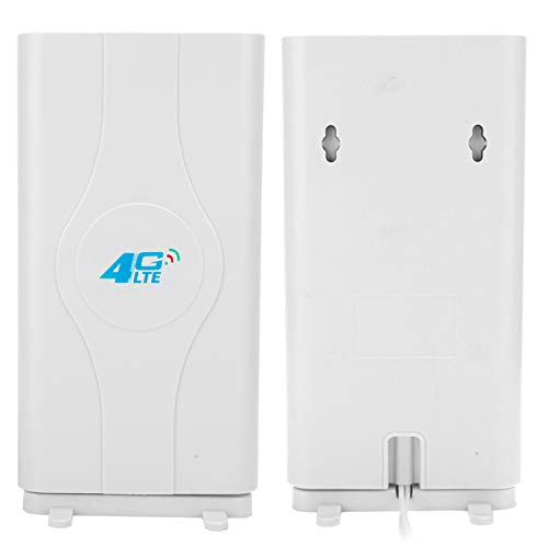 Asixxsix Antena 4G LTE, enrutador doméstico 4G LTE Anetnna de 698MHZ-2700MHz, Doble TS9 para Ampliar la señal estabiliza la señal