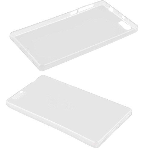 caseroxx TPU-Hülle für Elephone M2, Tasche (TPU-Hülle in transparent)