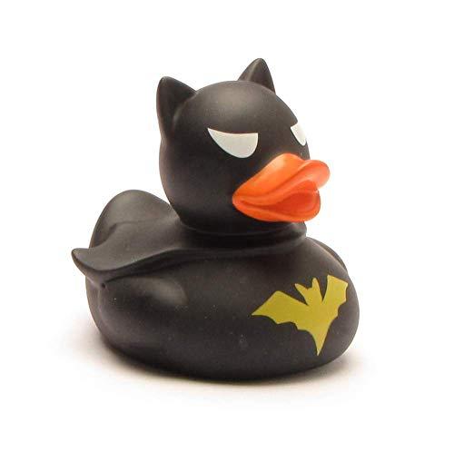DUCKSHOP I Badeente Dark Duck I Quietscheente I L: 7,5 cm