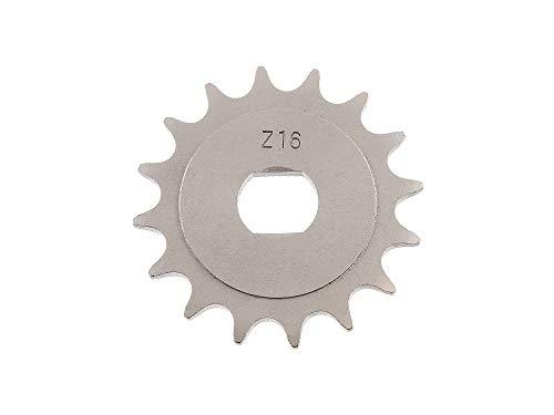 Replika Ritzel, kleines Kettenrad, 16 Zahn - für Simson S51, S70, S53, S83, KR51/2 Schwalbe, SR50, SR80