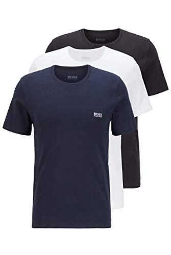 BOSS T-Shirt RN 3P CO Capa de Base Superior, Open Miscellaneous984, M para Hombre