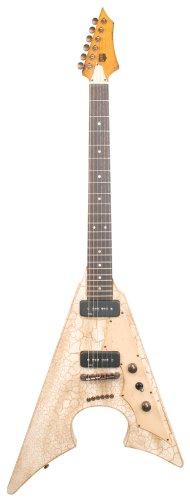 Axl Badwater Jacknife, diseño de guitarra eléctrica, color marrón