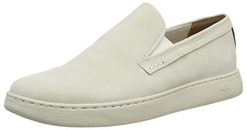UGG Australia Pismo Sneaker Slip-on, Scarpa Uomo, Bone White, 46 EU