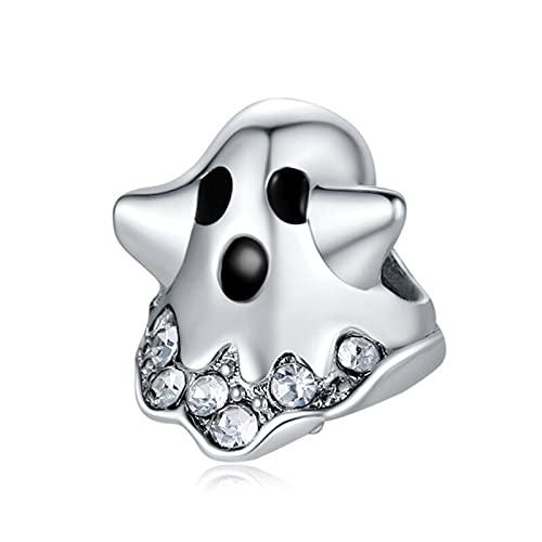 Pandora 925 joyería de plata esterlina colgantes novo pingente fantasma bonito contas adequado para charme pulseira senhoras jóias fazendo presentes originais