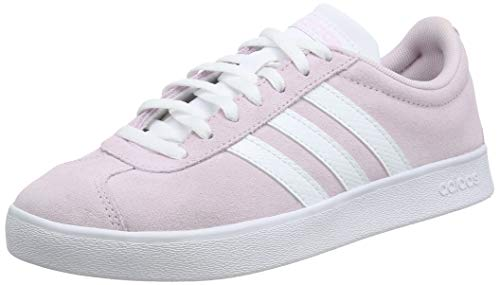 adidas Damen VL Court 2.0 Sneaker, Pink (Aero Pink/Footwear White/Light Granite 0), 38 2/3 EU