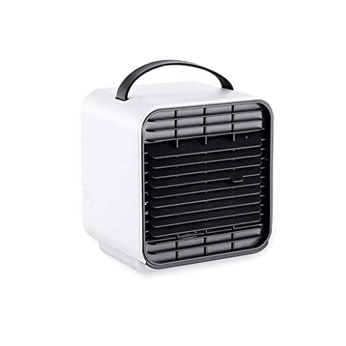 XXF-Shop Fan di Raffreddamento ad Aria Mobile per casa per Ufficio Camera da Letto per Esterni Ect Ect Aria condizionata Aria condizionata Air Cooler Mobile Aria condizionata Ventola (Color : White)