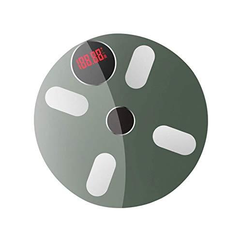 XTZJ Escala de baño de Peso Corporal Digital de Alta precisión con Plataforma Ultra Ancha y LCD retroiluminada fácil de Leer, 440 Libras