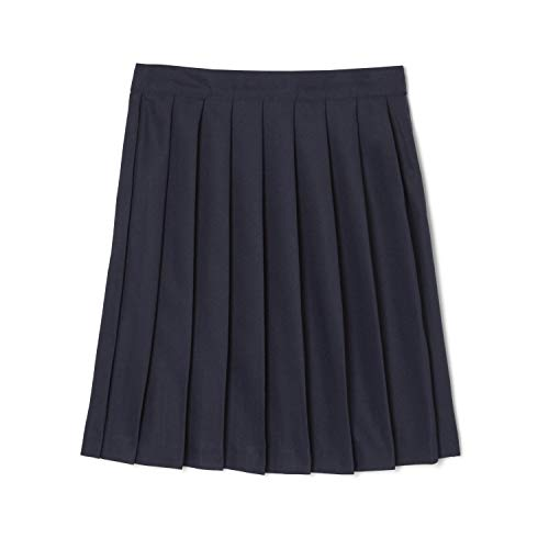 French Toast Little Girls' Pleated Skirt, Navy, 6X