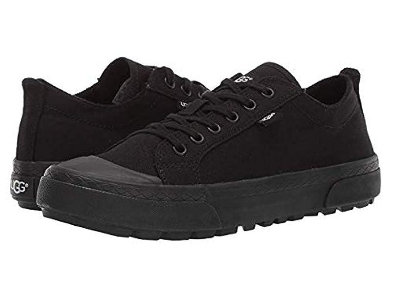[アグ] レディーススニーカー?靴?シューズ Aries Black US 8.5 (25.5cm) B - Medium [並行輸入品]
