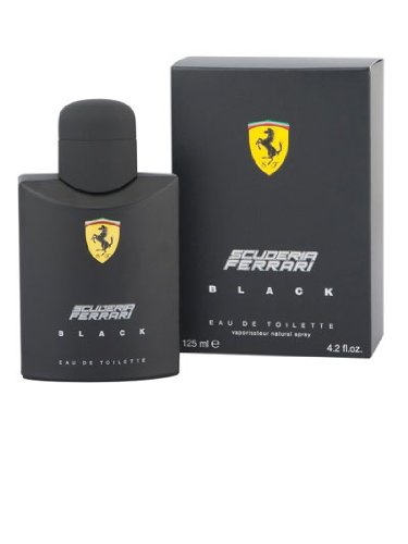 Ferrari Scuderia Black PARA HOMBRES por Ferrari - 126 ml Eau de Toilette Vaporizador