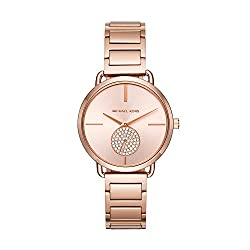 small Michael Kors Portia Rose Gold Tone MK3640 Watch