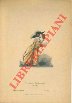 Franzosische Kindertracht. Um 1860.