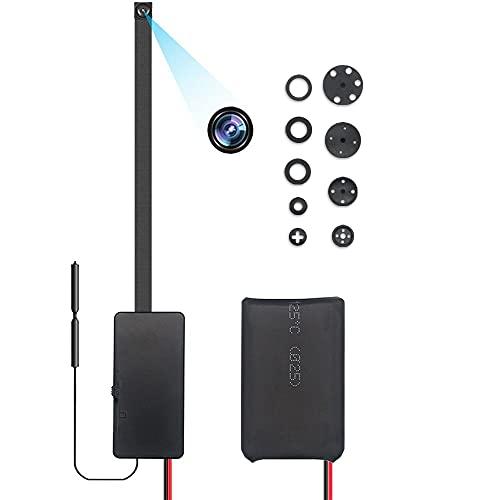 Telecamera WiFi HD 1080P, Telecamera Wireless WiFi Rilevatore di Movimento Controllato dall'APP TuyaSmart Visualizzazione Remota per la Sicurezza di Casa e Ufficio (Batteria Ricaricabile da 2000 mAh)