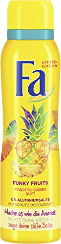 FA Deospray Limited Edition Funky Fruits ohne Aluminium, 6er Pack (6 x 150 ml)