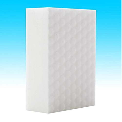 Fallcon (10PACK Borrador Magico Premium XXL Extra Grande Duradero Esponja Magica Quita Manchas - Natural Ecológico,2 Veces mas Fuerte y Duradera(Blanco)