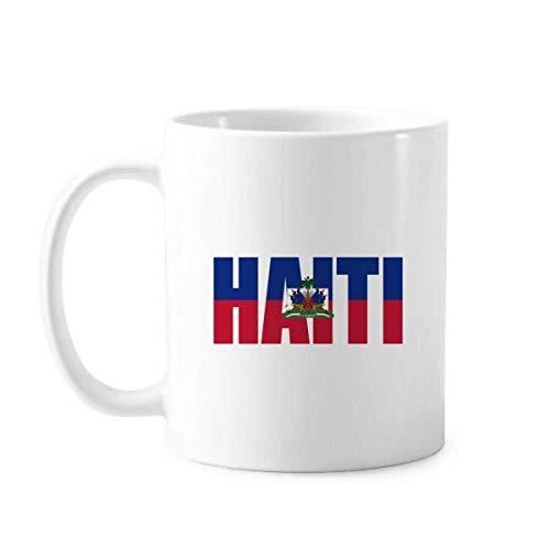 Haiti Länderflagge Namenstasse Keramik Kaffee Porzellan Tasse Geschirr