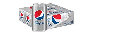 Diet Pepsi, 12 fl oz. cans, 3 (12 Pack) Fridge Pack Bundle