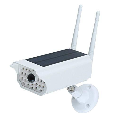 Exuberanter Outdoor Dummy Kamera Solar IP66 Wettergeschütztes Mit Bewegungsmelder, Fake Überwachungskamera Mit LED Blinkender, Geeignet Für Terrassen, Garagen, Tore, Villa Wände