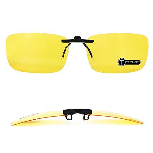 TERAISE Clip De Visión Nocturna Polarizada En Gafas