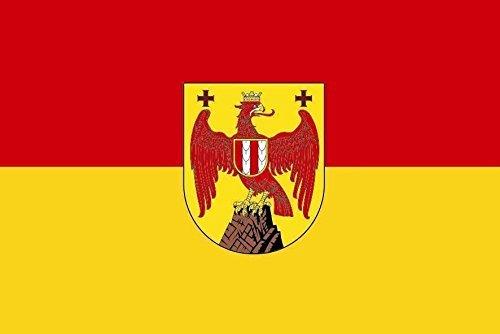 U24 Fahne Flagge Burgenland Bootsflagge Premiumqualität 60 x 90 cm