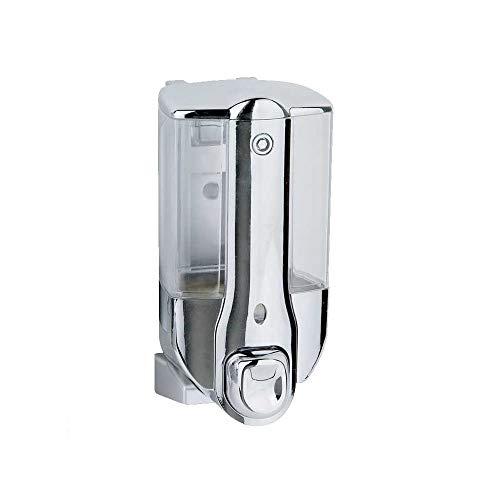 TrAdE Shop Traesio Mini Dispenser Porta Sapone Manuale DOSATORE EROGATORE A Parete da 350 ML