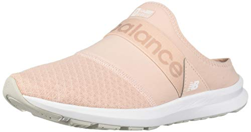 New Balance Women's FuelCore Nergize Mule V1 Alternative Closure Sneaker, Oyster Pink/Pink Mist, 5 W US