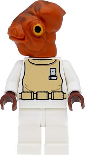 LEGO Star Wars - Figura de Admiral Ackbar (Mon Calamari) con armas