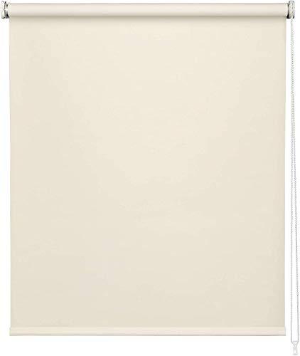 Estor Liso Beige Enrollable Opaco es Muy Sencillo Tanto en Techo como en Pared,para Salas,Salones,baños,Habitaciones,con un Alto de 180cm. (200, 180)