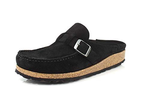 Birkenstock Women's Buckley Casual Shoes Black Suede EU Size: 38 - US Size: 7/7.5 Narrow