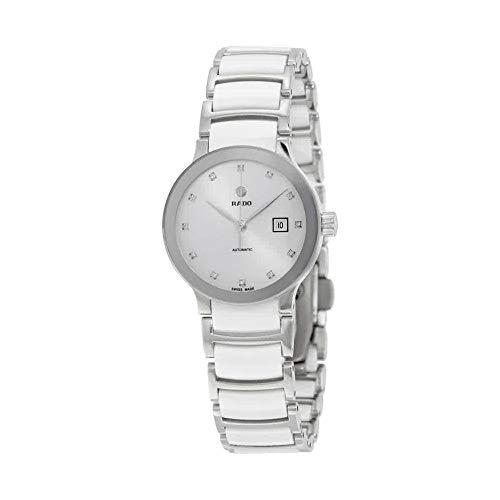Rado Centrix Damen-Armbanduhr, automatisch, weißes Zifferblatt, R30027732