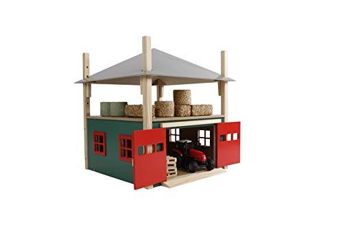 Van Manen Kids Globe Farming Heuschober (Holz, mit Speicher, Maßstab 1:32) - 610086