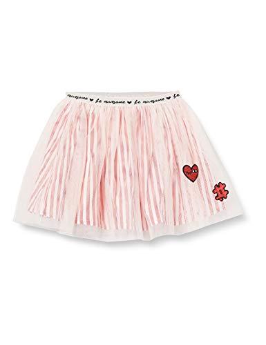 Brums Baby-Mädchen Gonna Popeline Rigato E Tulle Rock, Pink (Rosa Chiaro 07 016), 98 (Herstellergröße: 3A)
