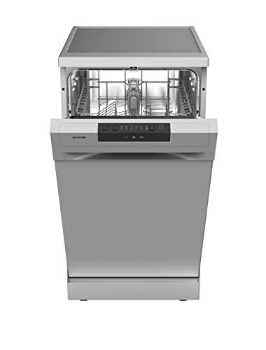 Gorenje GS 52040 S Freistehender Geschirrspüler / 45cm / 5 Programme / Vollständiger Überlaufschutz / 9 Maßgedecke / Multifunktionaler Unterkorb