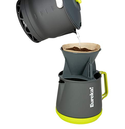 Eureka! Camp Café Camping Coffee Maker, Gray