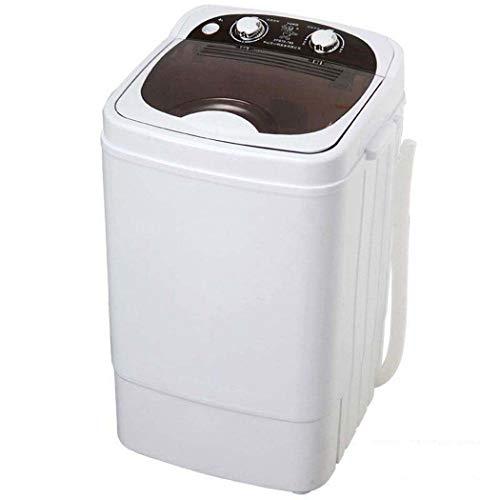 Mini-wasmachine, draagbaar, voor uitspoelen op de camping, mini-wasmachine, druppeleffect, draagbaar, klein, capaciteit 300 W, 6 kg
