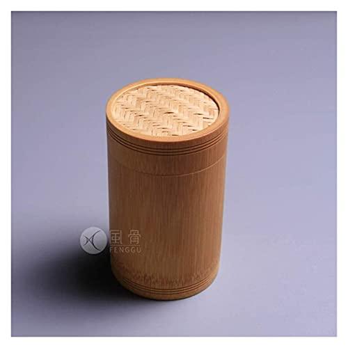 MTCWD Urnas funerarias cremación Cenizas de ataúd urna pequeña Madera Dura Tallada urna Biodegradable (Color : Brown, Size : 15x9cm)