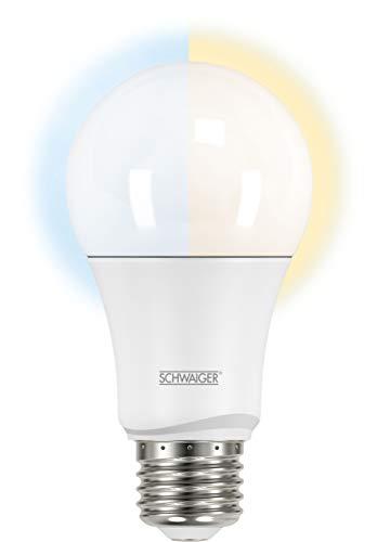 SCHWAIGER -HAL200- LED-Lampe   E27   dimmbar   smarte LED-Glühbirne   warmweiß, kaltweiß, neutral   Lichtsystem   Smart Home
