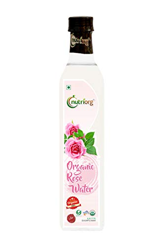 Nutriorg Certified Organic Rose Water - 250ml