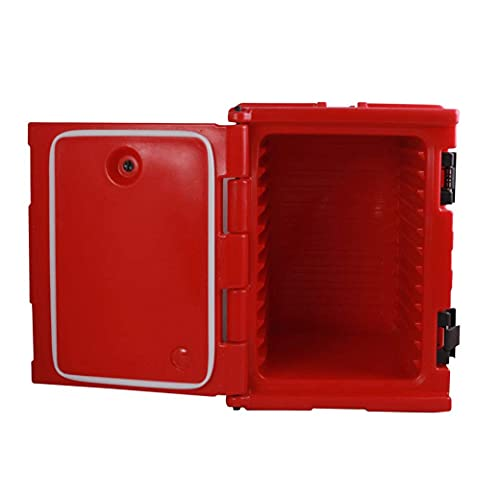 N\C Caja de Comida para Llevar de 90L, Caja de Comida para Llevar, Cantina Comercial de Comida rápida, Caja de refrigerador para Catering, preservación del Calor LKWK