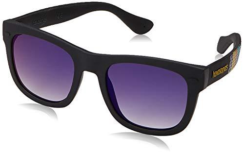 HAVAIANAS Unisex volwassenen PARATY/S zonnebril, BKSTRPDBK, 48
