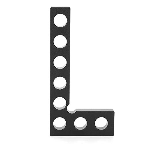Abrazadera de ángulo recto Herramienta de carpintero, Abrazadera de ángulo recto Pinzas cuadradas de ángulo recto para carpintería Carpintero Posición cuadrada de 10 cm