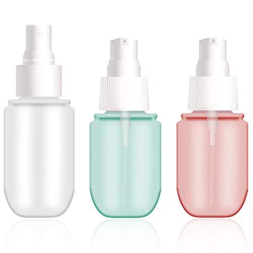 Gresunny 6 Piezas atomizador Spray Botellas de Spray vacias Bote Spray Botella pulverizador de Viaje Recargables portátil para Alcohol Perfume cosméticos 40 ml 60 ml