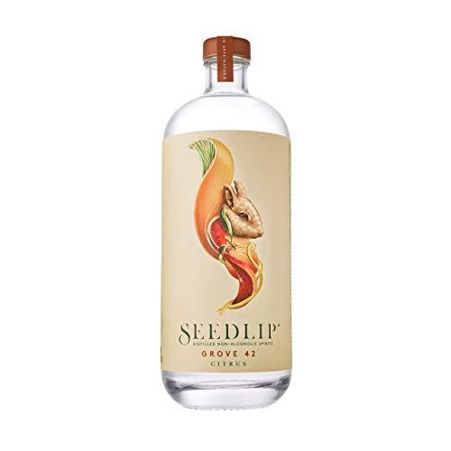 Seedlip Grove 42 – Citrus, Non-Alcoholic Spirit – Für alkoholfreie Cocktails und Longdrinks – 1 x 0.7 l