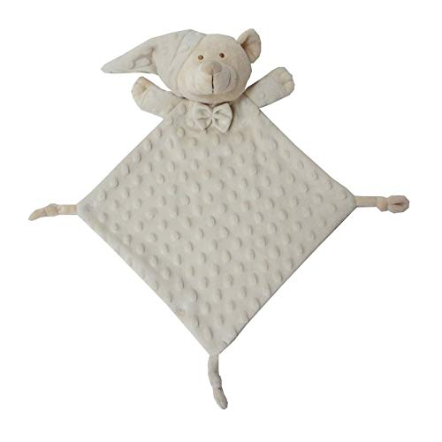 Duffi Baby Dou Osito Topitos, 24 x 24 cm, Color Natural (Master Baby Home, S.L. 4099-05)