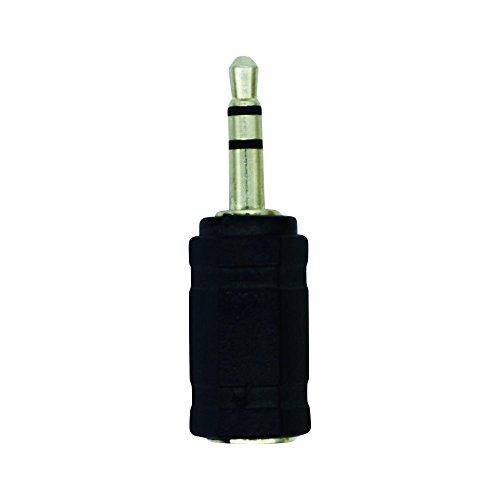 LogiLink CA1102 Stereo Headset Adapter (3,5 mm Klinke auf 2,5mm Buchse) schwarz