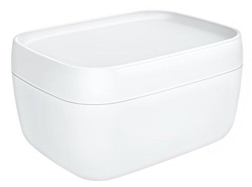 Rotho Sofia Aufbewahrungsbox 19 l mit Deckel, Kunststoff (PP), Weiß, 19 Liter (39,3 x 29,7 x 21,1 cm)