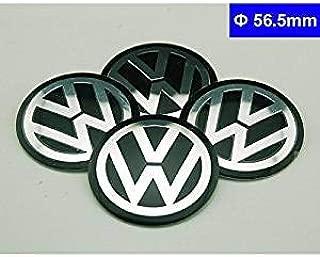 4pcs 56.5mm For Volkswagen Car Model Emblem Badge Sticker Wheel Hub Caps Centre Cover