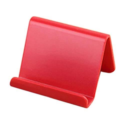 Wnuanjun, 2 STKS Mobiele Telefoon Houder Vaste Beugel Staande Mini Draagbare Afstandsbediening Rack Kunststof Candy Home Organizer benodigdheden K20